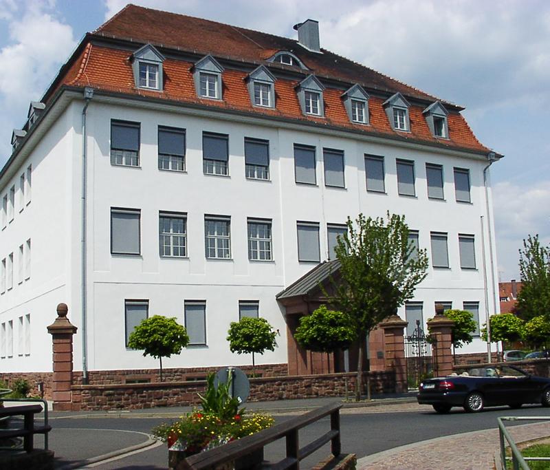 Referenzen Grundschule Lohr am Main von Maler FRANZ